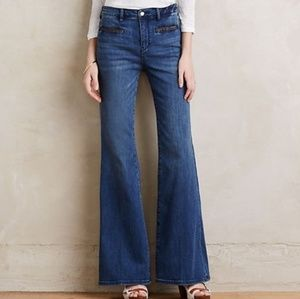 Anthropologie Pilcro Stet High Rise Flare Jeans